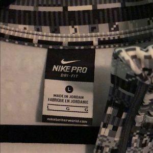 Nike Tops - Nike Pro Dri-fit quarter zip size large